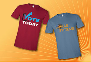 Union Made Promotions Printed T-Shirts and Apparel