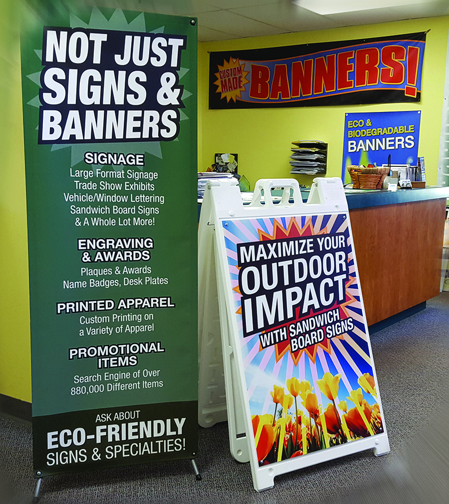 Banners and signs from Union Made Promotions
